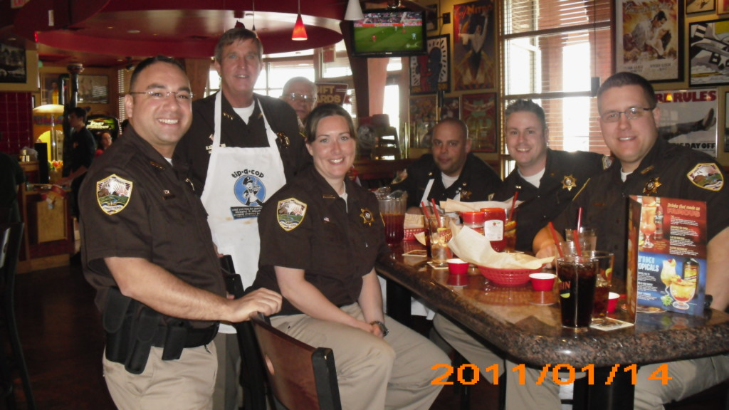 """Tip a Cop""  Fundraiser at Red Robin for Special Olympics"